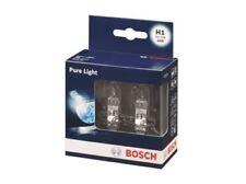 2X BOSCH Pure Light H1 Halogen Headlamp Headlight Car Van Bulbs 448 12V 55W