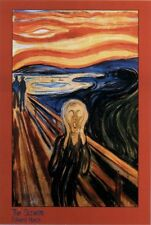 The Scream Edvard Munch Poster Print Wall Art Home Decoration Redecorate