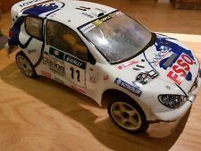 Kyosho Fazer Peugeot 206 Rally Coche 1/10 Traje Tamiya Hpi Schumacher Ect