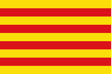 Catalonia 3' x 2' Flag Spain Spanish