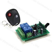 DC 12v relay 2CH 433MHz wireless RF Remote Control Switch Transmitter + Receiver