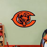 "Chicago Bears NFL Football Wall Decor Sticker Decal 25"" x 17"""