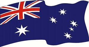 Aussie Australia Flag, Large Sticker Decal 1300 x 700mm