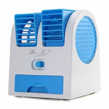 Mini Portable Fan Cooling Bladeless Air Conditioner with FRAGRANCE Water Cooler