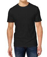 Club Room Men's T-Shirts Black Size 2XL Crewneck Chest-Pocket Tee $22 067