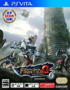 Video Game Monster Hunter Frontier G6 Premium Package PS Vita Japan