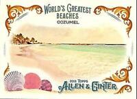 2018 Allen Ginter World's Greatest Beaches Inserts Baseball Card Singles U Pick