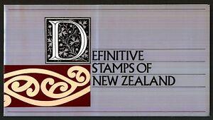 NEW ZEALAND Definitive Stamps Presentation Pack 1975 - 80 MNH
