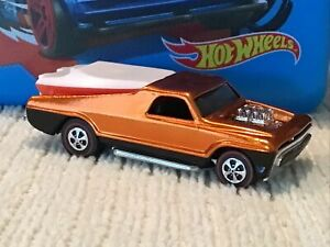 Hot Wheels Redlines 1970 Seasider Orange WOW!