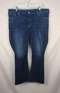 Silver Jeans Co. Avery Slim Boot Women's Blue Denim Jeans sz 30x31