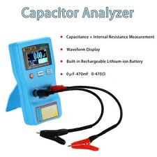 2 in 1 Digital ESR Meter Capacitance Tester Internal Resistance Measurement T5R6