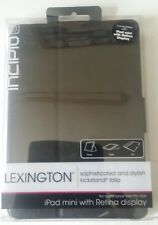 Incipio Lexington Kick Stand-Compatibile con Apple iPad mini con Retina-Nero