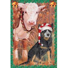 Australian Cattle Dog Christmas Cards Set of 10 cards & 10 envelopes