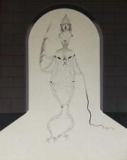 """""""L'homlige"""" Lithographie de Félix LABISSE"""