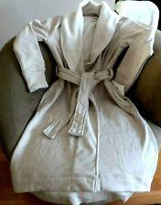 UGG Duffield Double Knit Spa Robe Oatmeal Heather Size XL New UA4101