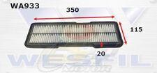 WESFIL AIR FILTER FOR Daihatsu Mira L200 0.66L 1992-1995 WA933