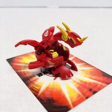 Bakugan Helix Dragonoid Red Pyrus BakuTech Series DNA 560G