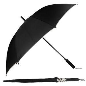 Men Women Auto Open Long Handle Extra Large Windproof Anti-UV Sun Rain Umbrella