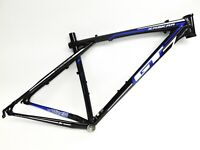 "GT Zaskar Elite 9r Hardtail Mountain Bike Frame 29"" Black w/Blue and White Large"