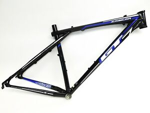 "GT Zaskar Elite 9r Hardtail Mountain Bike Frame 29"" Black w/Blue and White Large"