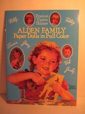 Alden Family Paper Dolls