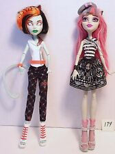 Lot of 2-Monster High Dolls - Scaris Rochelle Goyle & Scarah Screams/Toralei