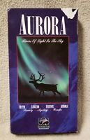 AURORA Rivers of Lights in the Sky VHS Video Tape ALASKA'S NORTHERN LIGHTS 1994
