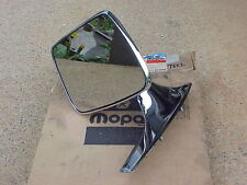 1971 72 73 Plymouth Dodge Chrysler Left OUTSIDE MIRROR Fury Polara Newport