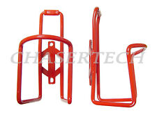 New MTB Road Bicycle Bike Alloy Bottle Cages Painted Red 1 Pair