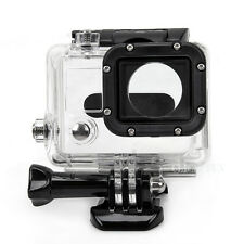 Waterproof Diving Protective SNAP-ON Housing Case For Gopro Go Pro Hero 4 3+ 3