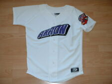 AKRON AEROS MINOR LEAGUE BASEBALL JERSEY YOUTH SMALL - FULLY STITCHED