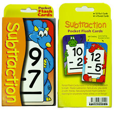 Educational Flash Cards - Subtraction