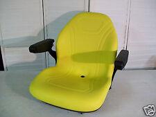 YELLOW SEAT FOR JOHN DEERE 425,445,455,4100,4110,4115,GARDEN,COMPACT TRACTOR #KF