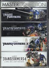 4 Dvd Box Cofanetto **TRANSFORMERS ♦ COLLECTION ♦ QUADRILOGIA** nuovo