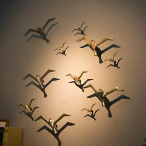 Luxury Creative Bird Seagull Wall Hanging Wall Decoration Retro Bar Ornament