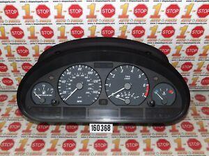 2000 BMW 323i 328i M/T MPH INSTRUMENT CLUSTER SPEEDOMETER 62116901937 163K OEM