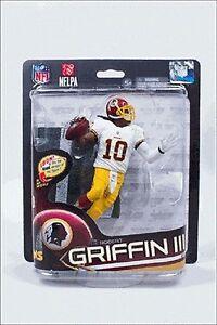 Robert Griffin III RG3 Washington Redskins McFarlane Action Figure NIB NFL
