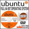 UBUNTU FULL 64 BIT OPERATING SYSTEM 2017 EDITION FOR DESKTOP & LAPTOP COMPUTERS