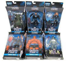 New listing Hasbro Marvel Legends Fantastic Four Super Skrull BAF Set Complete 2019