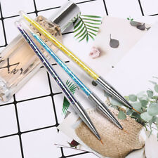 3Pcs painting drawing line pen brush rhinestone design polish tools nail artSC
