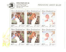 Royalty Sheet New Zealand Stamps