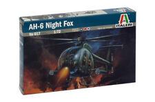 Ah-6 Night Fox Elicottero Helicopter 1 72 Plastic Model Kit Italeri
