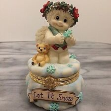 New ListingDreamsicles Let It Snow Trinket Box 10838