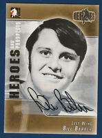 BILL BARBER 2004-05 IN THE GAME HEROES AND PROSPECTS AUTOGRAPH NICE  15983