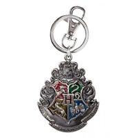 Harry Potter Schlüsselanhänger Hogwarts Wappen - Schlüsselring Karabiner 6,5x4cm