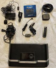 Sirius Xm Satellite Radio Sxabb1 Portable Speaker Dock & Xdnx1 Radio + Car Kit