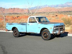 1969 Chevrolet C20 4X4 3/4 Ton Pickup Truck