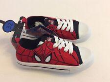 Disney Spiderman  Schuhe Jungen Sneacker Turnschuhe Canvas Kinder Neu