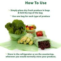 20Pcs Vacuum Sealer Bags Rolls Vaccum Vac Food Saver Storage Bag Pack