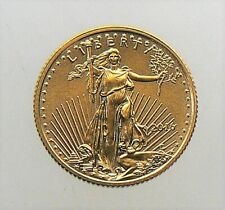 2016 1/10 oz Gold American Eagle $5 GEM Brilliant Uncirculated Coin